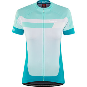 Löffler Hotbond Bike Jersey Full-Zip Women, topazblue